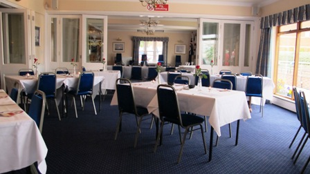 Dining at the Royal Air Force Yacht Club